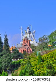 Statue of Lord Shiva at Char Dham in Namchi, Sikkim.