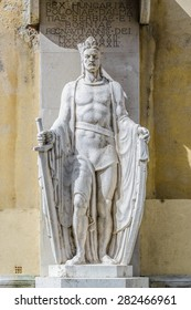 Statue of Ludovicus Magnus in the City of Szekesfehervar, Hungary