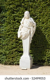 Statue of Lysias in Versailles Chateau gardens. France