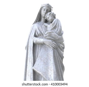 Statue of Maiden Maria with Jesus