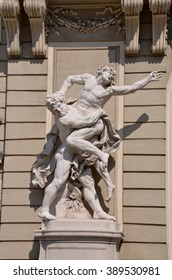 Statue in Michaelerplatz, Hofburg Quarter, Vienna
