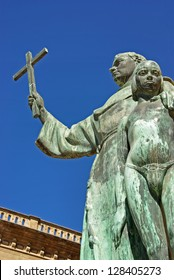 Statue of the missionary Junipero Serra