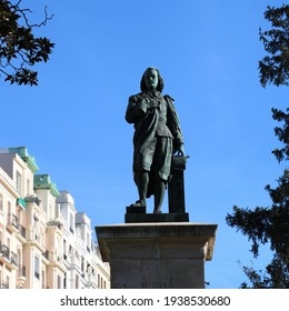Statue of Murillo in Madrid Spain
