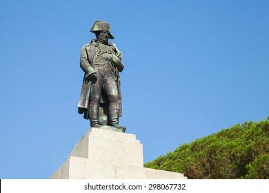 Statue of Napoleon Bonaparte as First imperator of France, Ajaccio, Corsica
