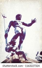 statue of Neptune, Bologna, Italy