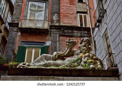 Statue of the Nile God, Naples
