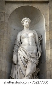 Statue on City Hall; Bordeaux; France