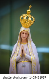 Statue of Our Lady of Fatima Catholic virgin Mary