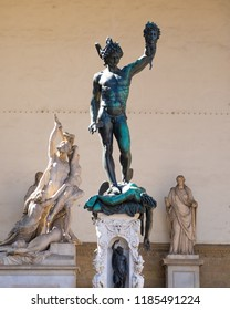 statue, Perseus with the Head of Medusa