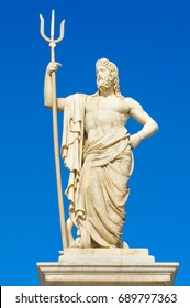 Statue of Poseidon (Neptune) in Havana, Cuba