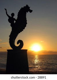 Statue in Puerto Vallarta, Mexico