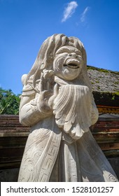 Statue in Pura Tirta Empul temple, Tampaksiring, Ubud, Bali, Indonesia