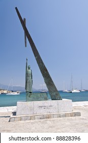 Statue of Pythagoras in Pythagorion