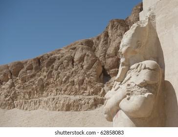 Statue of Queen Hatshepsut in Luxor, Egypt