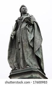 Statue of Queen Victoria in Birmingham, England