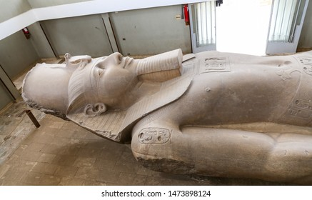 Statue of Ramesses II in Memphis, Cairo City, Egypt
