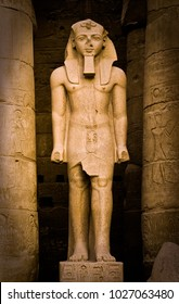 Statue of Ramses II at the Luxor Temple
