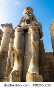 Statue of Ramses II at the Luxor Temple, Egypt