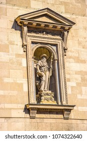 Statue of Saint Jerome at the St. Stephen's Basilica, Hungary