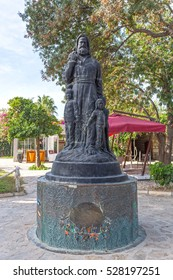 Statue of Saint Nicholas (Santa Claus) in Demre, Turkey