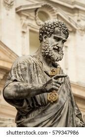 Statue of Saint Peter in Vatican