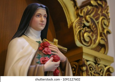 Statue of saint Therese of child Jesus