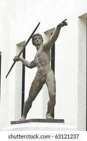 Statue, Skulptur Athletik