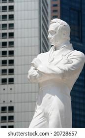Statue of Sir Stamford Raffles, Singapore