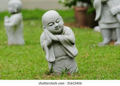 Statue Of A Sleeping Buddha