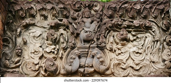 statue at  Sri thep historical park thailand