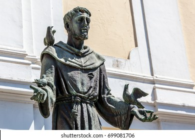 Statue of St Francis