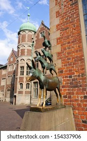 The Statue of Town Musicians of Bremen