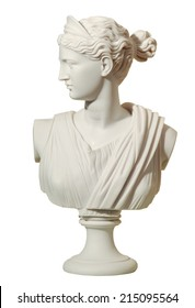 statue of a woman in the antique style