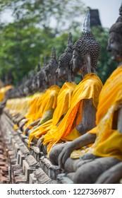 ฺBhudda Statue at Yaichaimongkol Temple