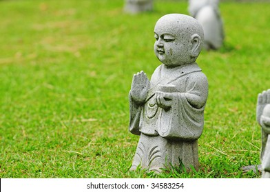 Statue  Of Young Buddha