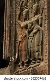 Statues of Angkor Wat, Cambodia