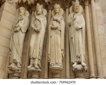 Statues of Catherdral