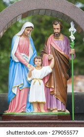 Statues of the Holy Family of Jesus.