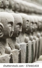 Statues at Japanese temple