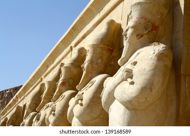 Statues at The Valley of the Queens, Luxor, Egypt