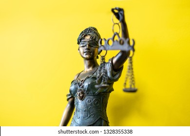 Statuette of Themis the ancient Greek goddess of justice