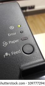 status of printer