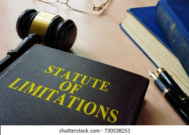 Statute of limitations (SOL) on a court desk.