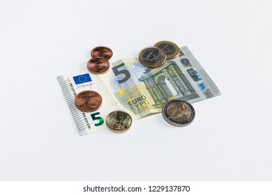 Statutory minimum wage in Germany,  9,19 euro banknotes and coins