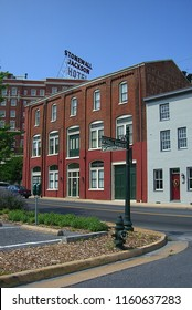 STAUNTON, VIRGINIA – JUNE 28: Historic buildings on June 28, 2006 in Staunton, Virgina. The Woodrow Wilson Presidential Library and birthplace is located in Staunton.