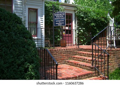 STAUNTON, VIRGINIA – JUNE 28: Woodrow Wilson Presidential Library on June 28, 2006 in Staunton, Virgina. Wilson was the 28th President of the United States.