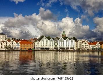 Stavanger city in Norway