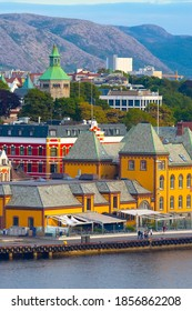 Stavanger, Norway city center view