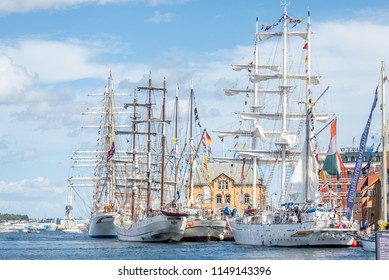 Stavanger / Norway - July 29th 2018: Tall Ships Race
