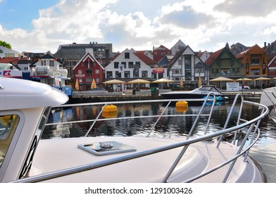 STAVANGER-NORWAY, ,JUNE-5-2017 Port of Stavanger in Norway known as the gateway to the fjords